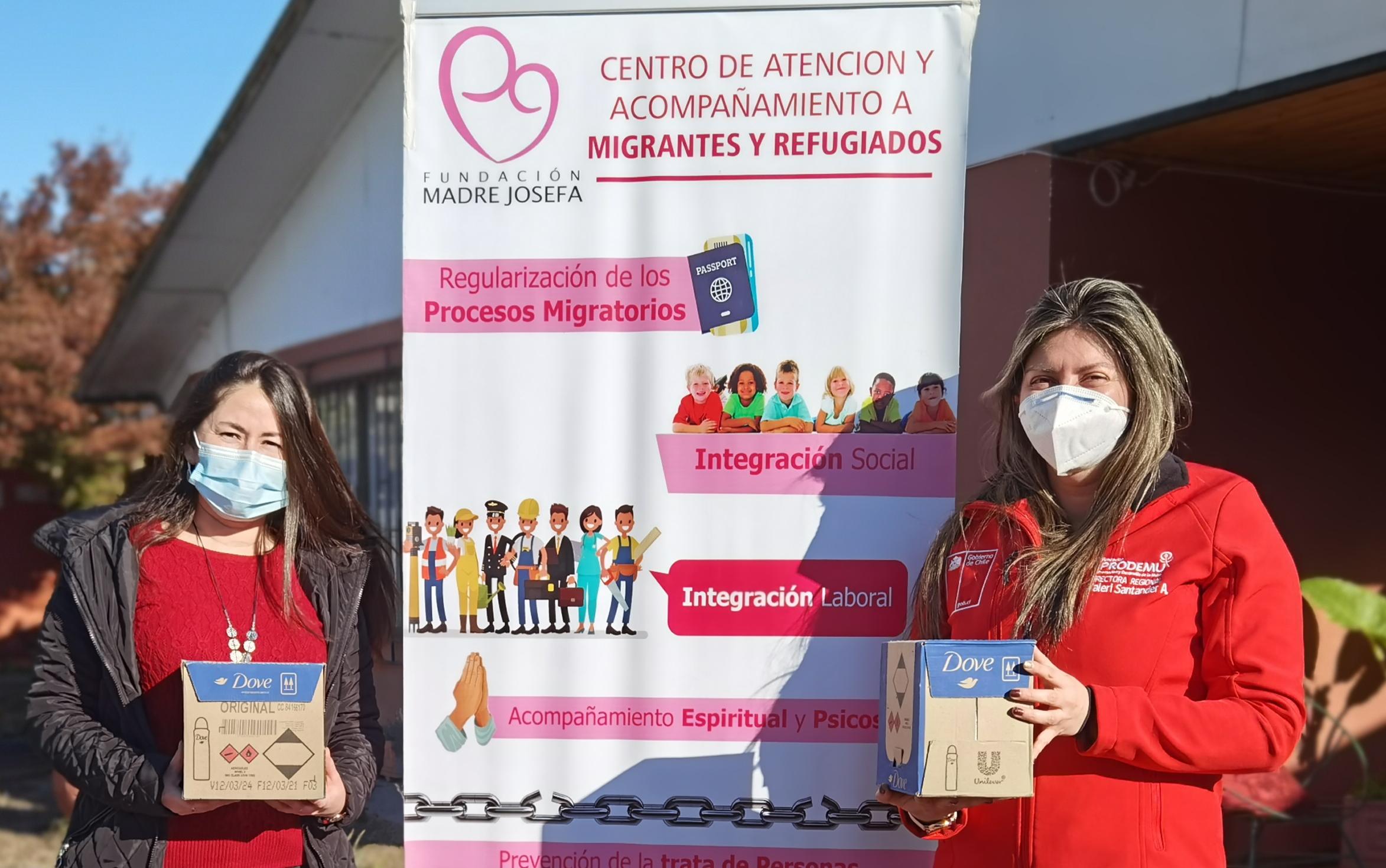 Campaña de ayuda humanitaria de la Fundación Madre Josefa