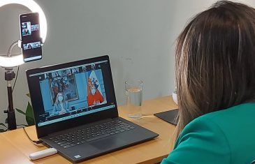 Directora Regional de PRODEMU participa en reunión telemática con la Primera Dama