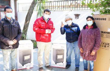 Maulinos recibieron importantes apoyos a través del Fondo Orasmi