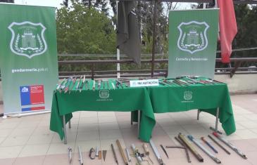 Funcionarios de gendarmería incautó artículos prohibidos en cárcel de Curicó