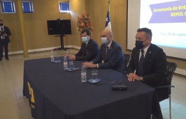 Asumió nuevo jefe regional de la PDI, el prefecto Ricardo Navarro Luke