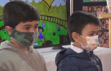 Municipio desarrolla iniciativa que busca conocer cuáles son los sueños de los niños para Talca