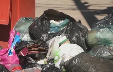 Municipio puso un equipo de contingencia para la recolección de basura en Talca