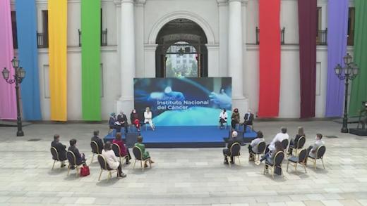 Presidente Piñera anunció la construcción del nuevo instituto nacional del cáncer