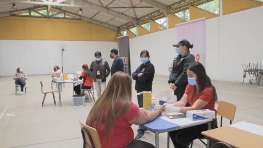 Comenzó la campaña de test rápidos de VIH en los centros penitenciarios de la región del Maule