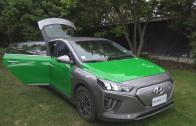 El Maule ya cuenta con el primer taxi colectivo eléctrico, que permite ahorrar hasta un 50%