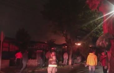 Incendio afectó a viviendas en población Brilla el Sol en Talca
