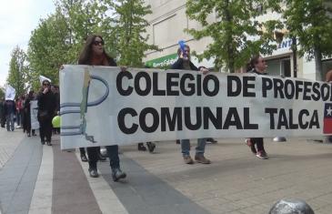Colegio de profesores llama a paro nacional este 13 de octubre